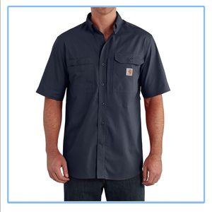 NWOT Carhartt Short Sleeve Button down Work shirt